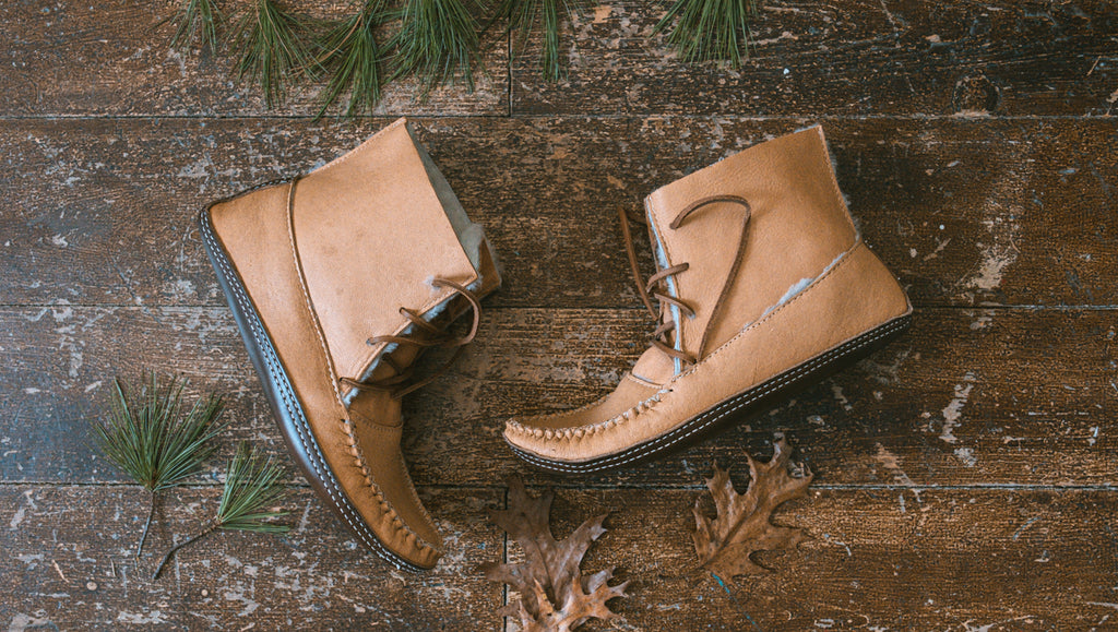winter moccasin earthing boots