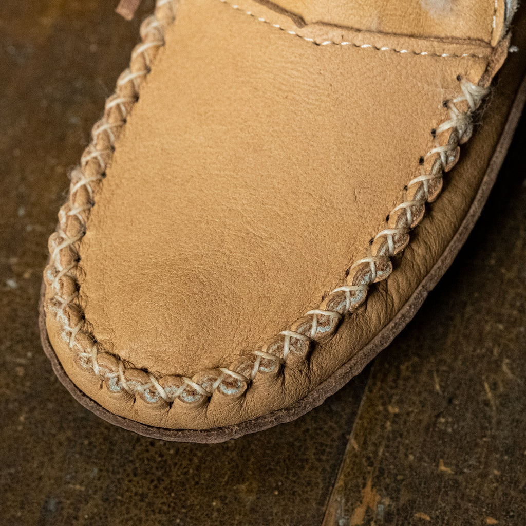 authentic Native sheepskin moccasin boots for women