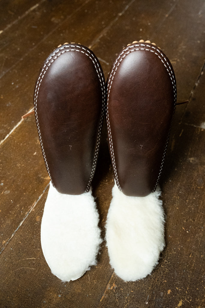 chromexcel leather soles and sheepskin insoles