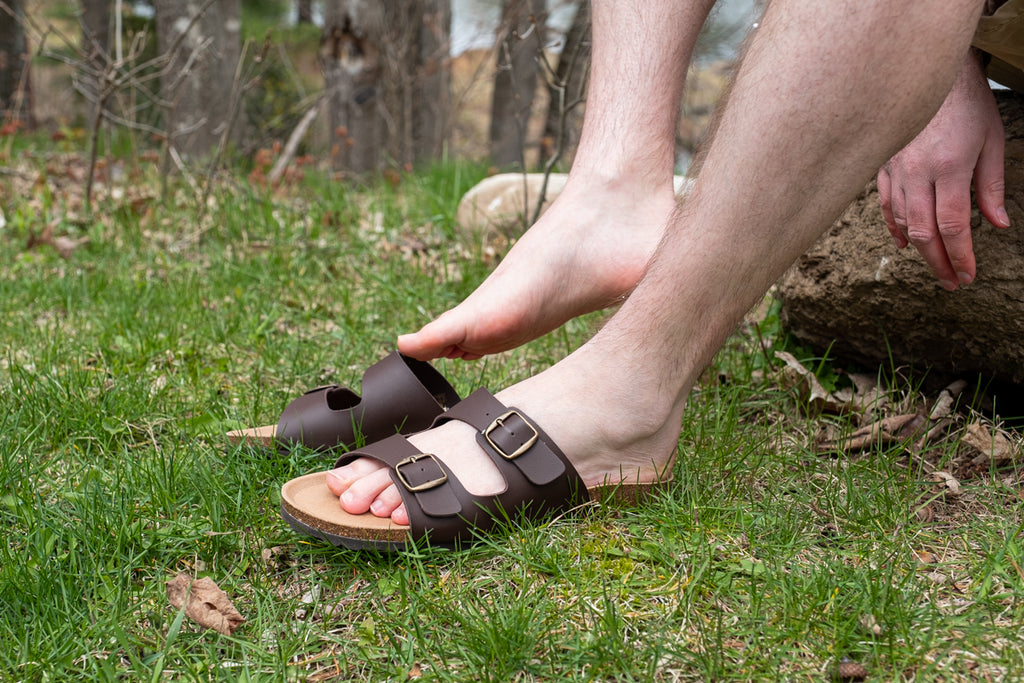 birkenstock style men biotime sandals made in spain