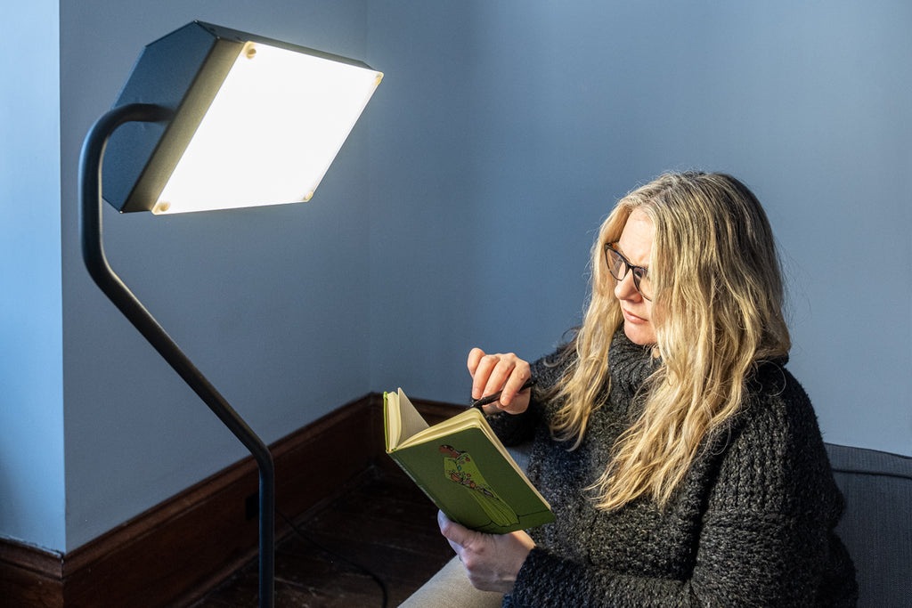 Light Therapy and Journaling