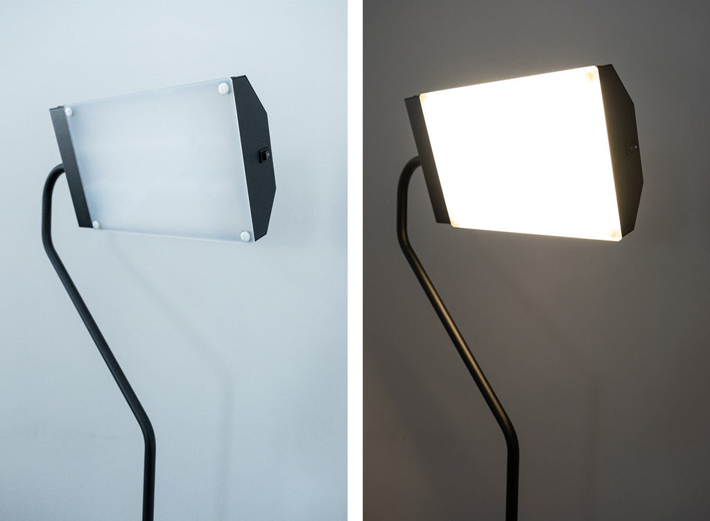 Light Therapy for SAD Depression relief floor lamp