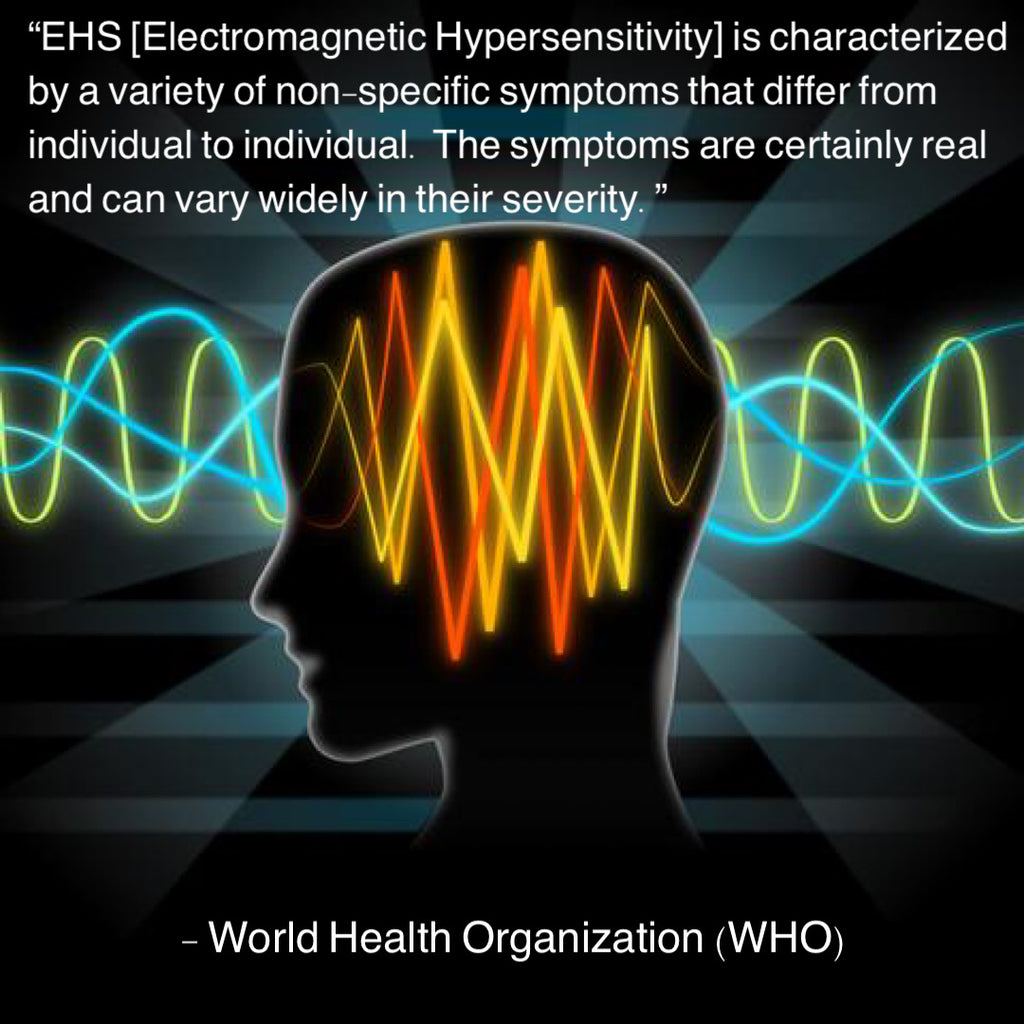 world health organization on electromagnetic hypersensitivity