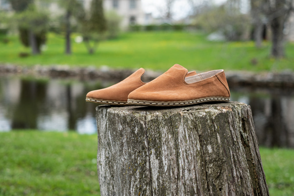 heel-less soft leather footwear is the traditional shoe of the Southern Anatolia region Asia Minor