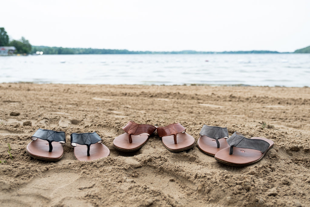 Sandals for Earthing