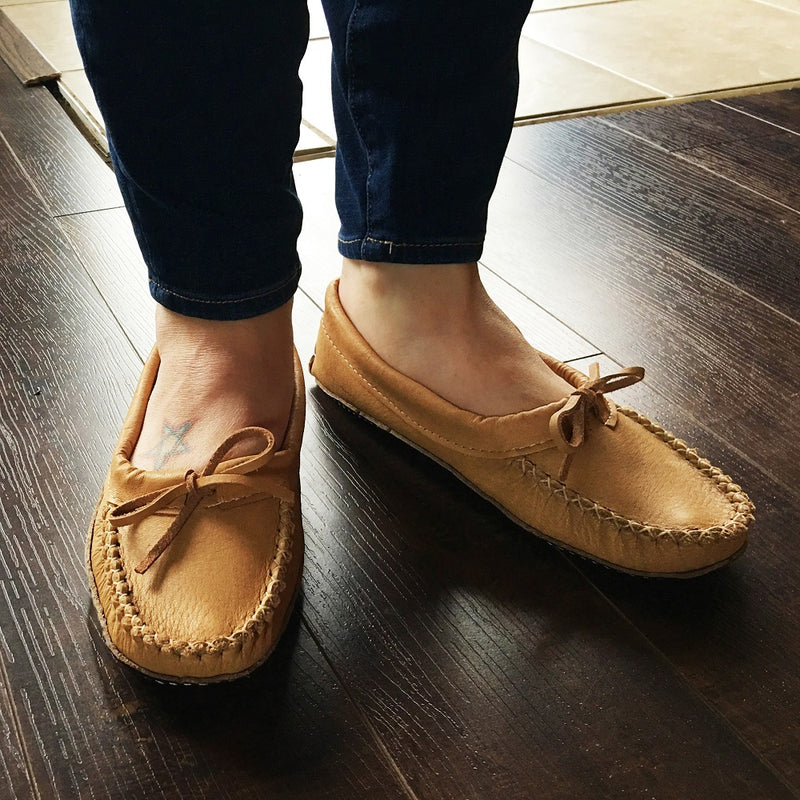 Women's Earthing Ballerina Slippers Maple B695