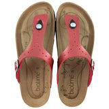 Women's Copper Rivet Red Pearl Brooke Earthing Sandals