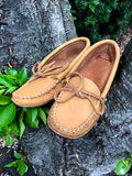 Women's Moosehide Earthing Moccasins BB3107L