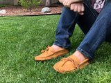 Men's Moosehide Earthing Moccasins BB3107M