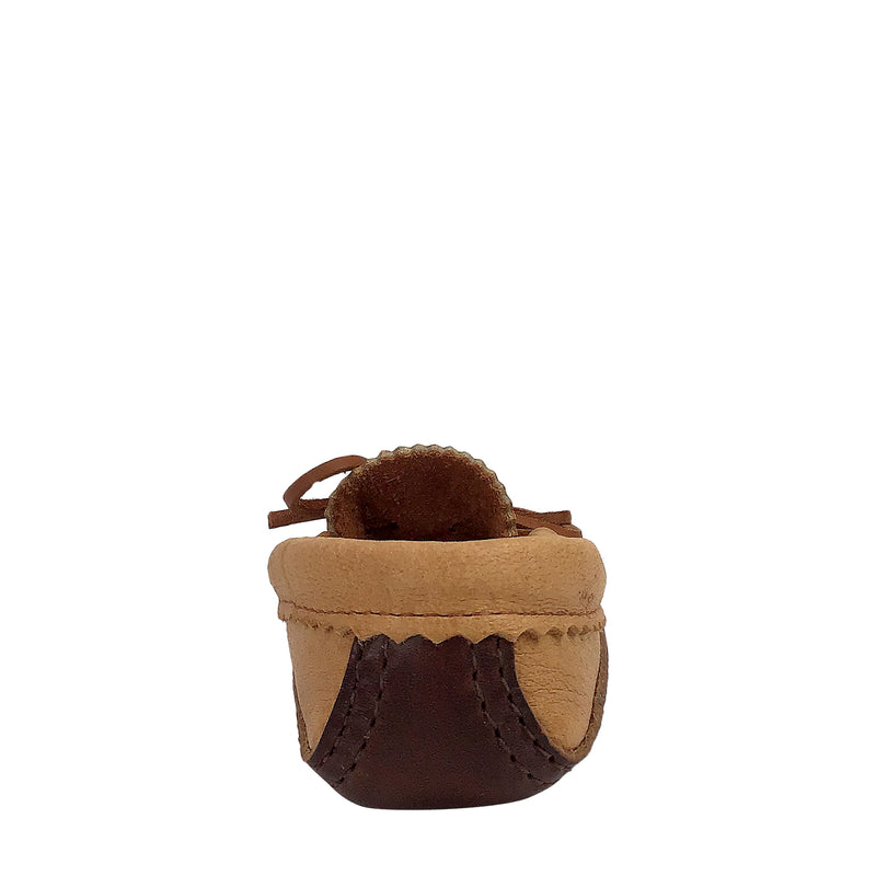 Children's Moose Hide Leather Moccasins for Earthing BB495J