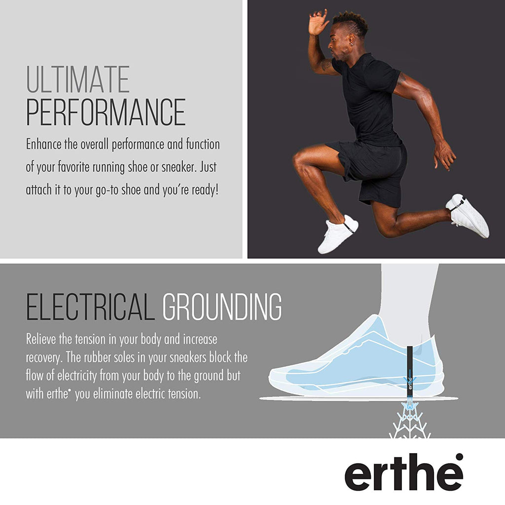 Erthe Athletic Grounding Shoe Straps
