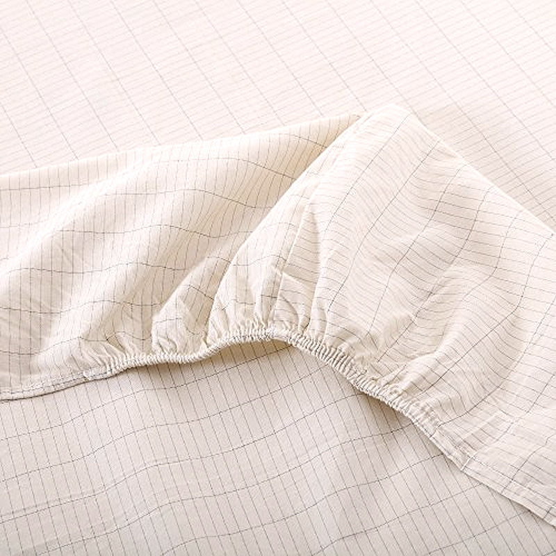 Deep Pocket Fitted Sheet for Earthing