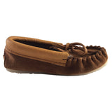 Junior Clearance Final Sale Copper Rivet Crepe Sole Moccasins
