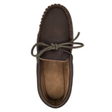 Men's Fudge Copper Rivet Rubber Sole Moccasins KB762R-M