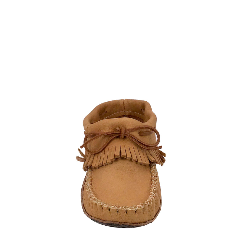 Women's Fringed Ankle Moccasins BB4685-N