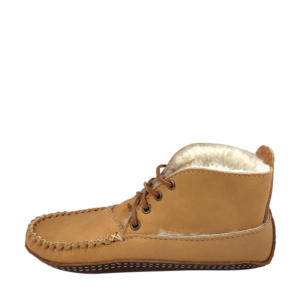 Women's Moose Hide Sheepskin Boots BB42115L