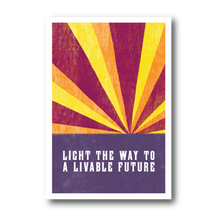 Load image into Gallery viewer, Light The Way To A Livable Future (Pack of 100)