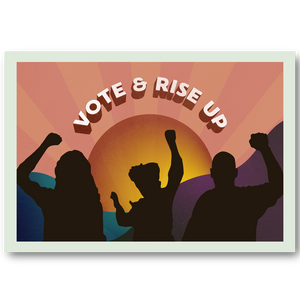 Vote and Rise Up - Horizon (Pack of 100)