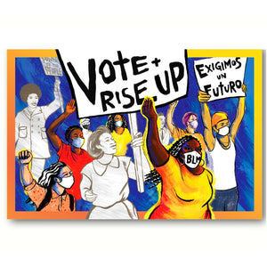 Vote & Rise Up (Pack of 100)