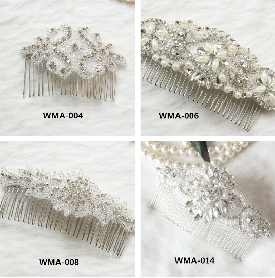 Bridal headpiece, bridal hair comb, Wedding hair comb, bridal comb, vintage hair comb rhinestone hair comb, crystal hair comb