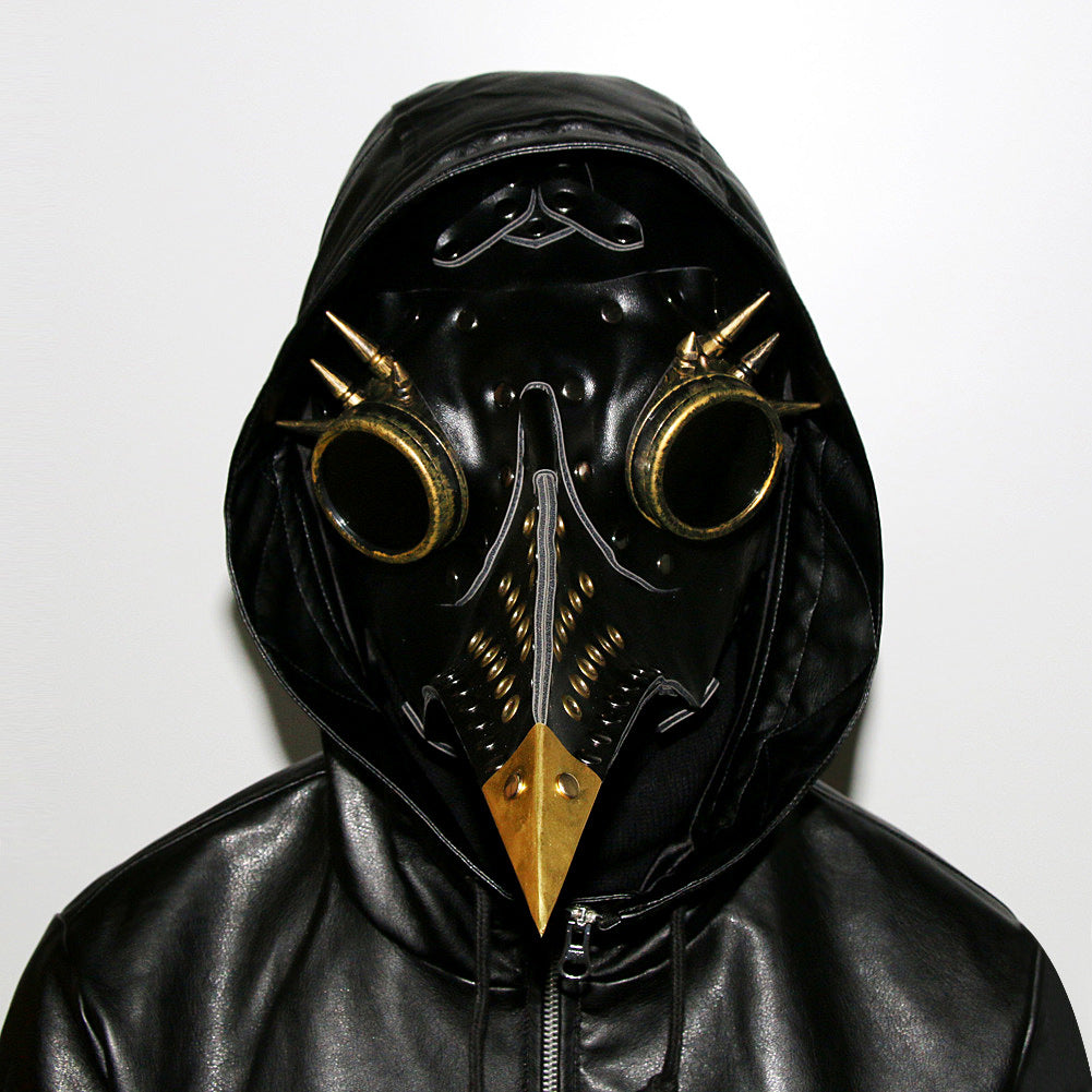 Steampunk Plague Doctor Bird Mask Punk Cosplay Masks Beak Adult Halloween Masks Prop Carnival Event Cosplay Props Party Scary Costume