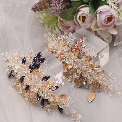 Rhinestone Wedding Headpiece Bridal Hairpiece Wedding Headband Pageant Head Piece Wedding Headdress Bridal Comb Jewelry Crystal Headpiece