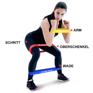 Yoga Stretch Band Set (5 Stücke)