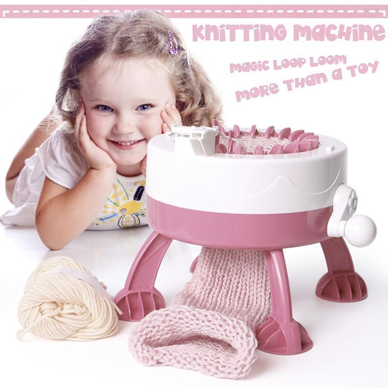 Strickmaschine Diy Manual Toys für Kinder