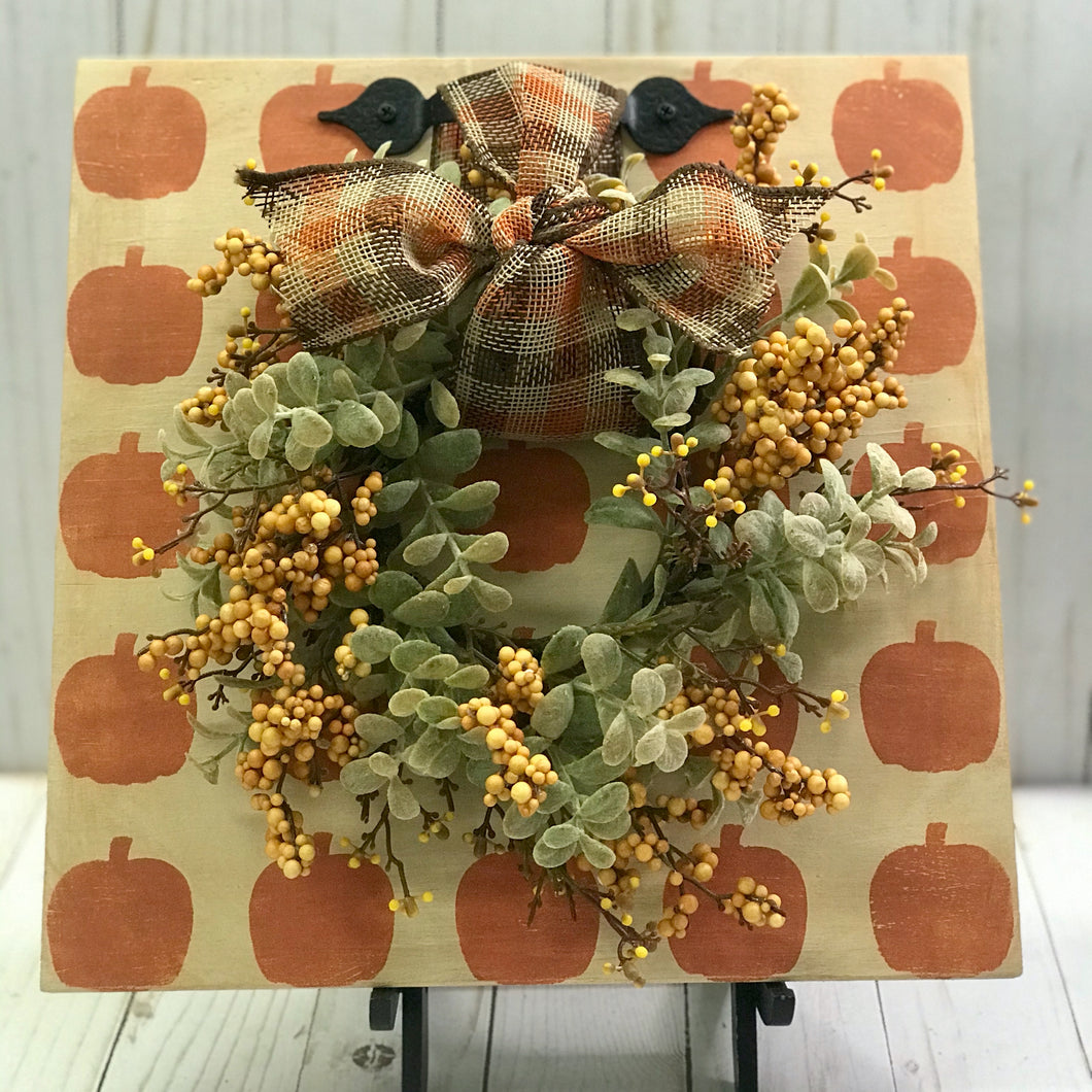 Fall Wreath Sign