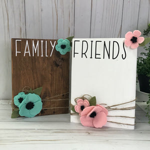 Family / Friends 8x10 Photo Block