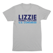 Load image into Gallery viewer, Lizzie Fletcher for Congress Logo Tee