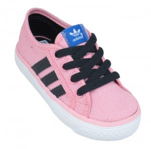 Adidas Infants Nizza Pink Trainers