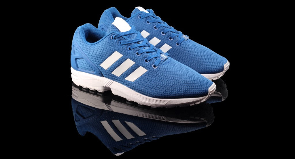 Adidas ZX Flux Mens Trainers Marine Blue 1 RECTANGLE