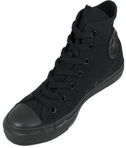 Converse All Star Black Canvas 1