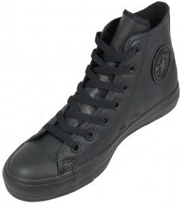 Converse All Star Black Leather 1