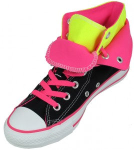 Converse All Star Hi Double Tongue Black Neon 1