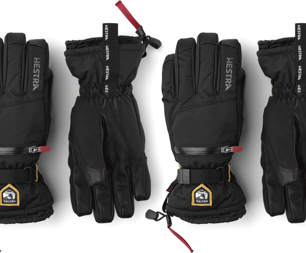 Hestra Ski Gloves for the slopes. Premium quality Hestra offers superior warmth and durability for your ski holidays