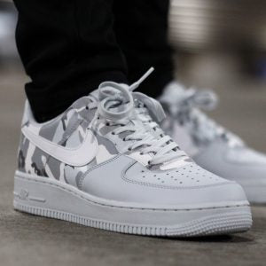 Nike Shoes Mens Air Force 1 Pure Platinum Camo Pack