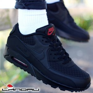 Nike Air Max 90 Essential Ninja Black Metallic Silver