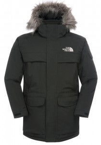 The North Face Mens Mcmurdo Parka with waterproof outer