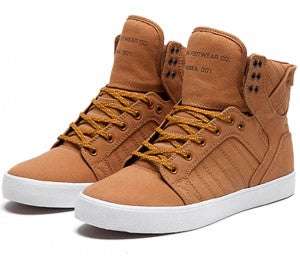 Supra Skytop Golden Oak Trainer 1