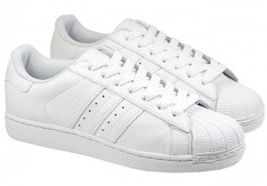 Adidas Mens Trainers Superstar Pure White