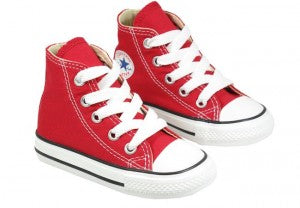 red covers kids shoes