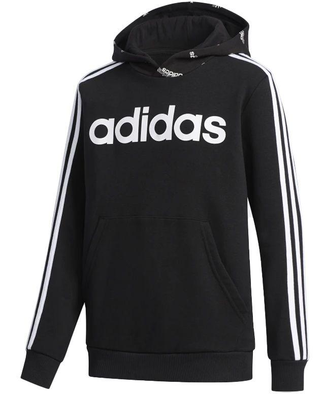 Adidas Kids Core Favourites Hoody Black White