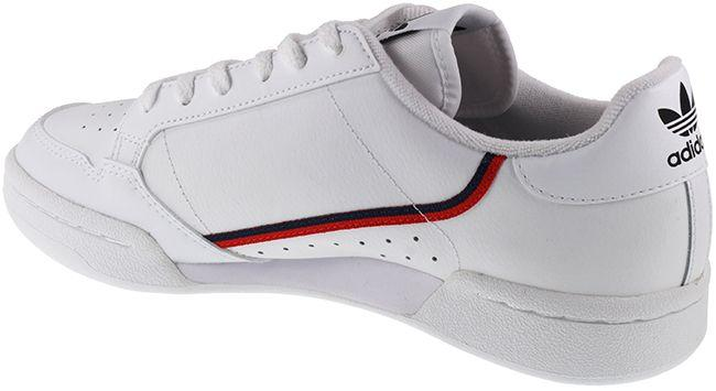 Adidas Originals Trainers Juniors Continental 80 White Navy Red