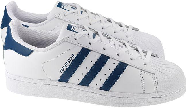 Adidas Originals Trainers Juniors Superstar White Navy