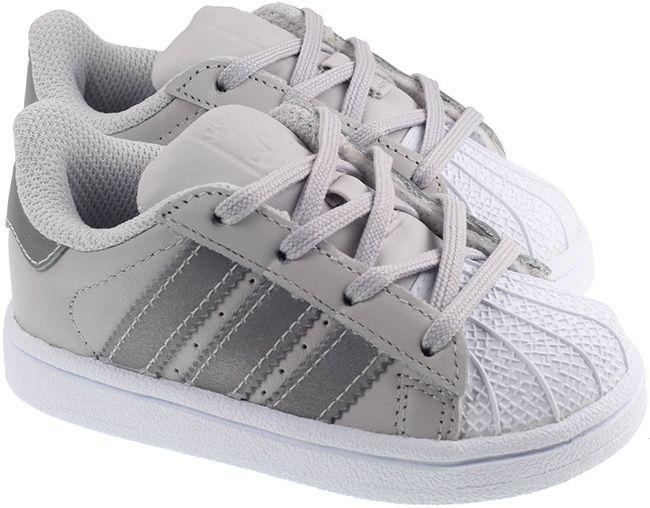 Adidas Trainer Infant Superstar Solid Grey Silver