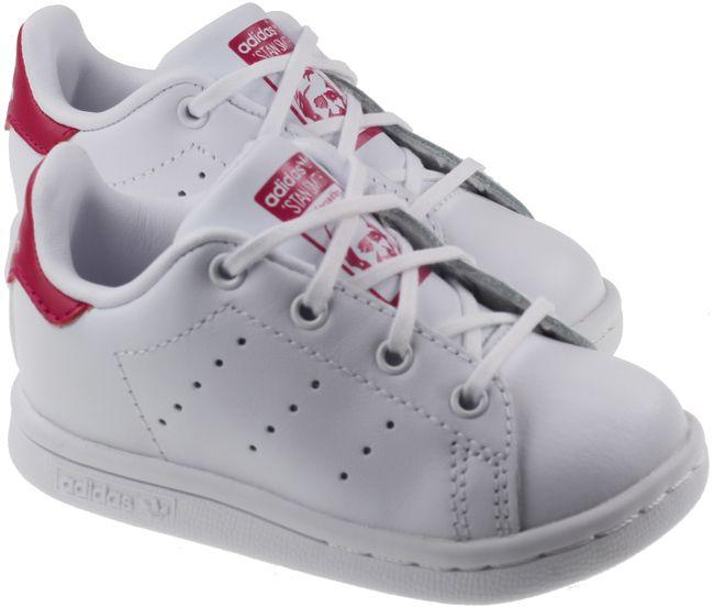 Adidas Trainer Infants Stan Smith White Bold Pink