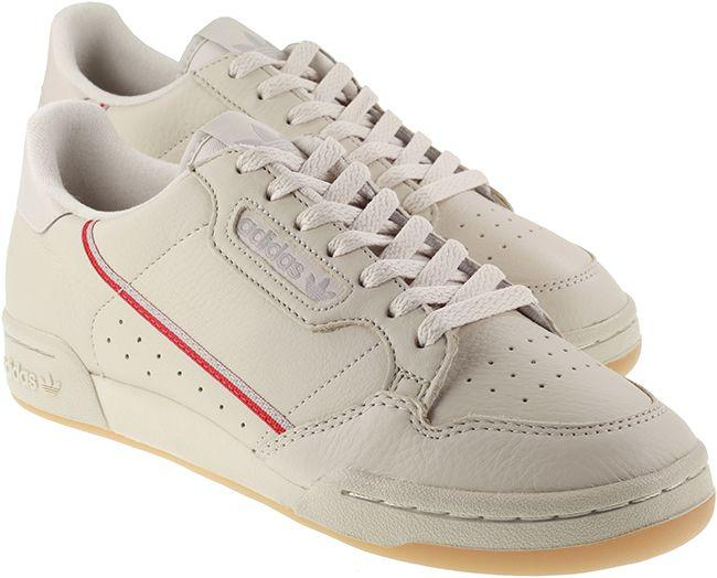 Adidas Originals Mens Continental 80 Clear Brown Scarlet Ecru Tint