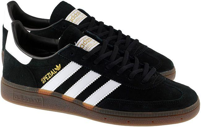 Adidas Originals Trainers Mens Handball Spezial Black White